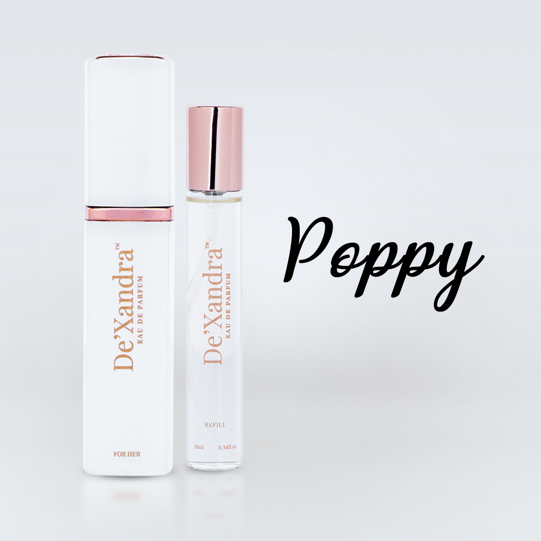 Poppy – De'Xandra Eau De Parfum Twist & Spray