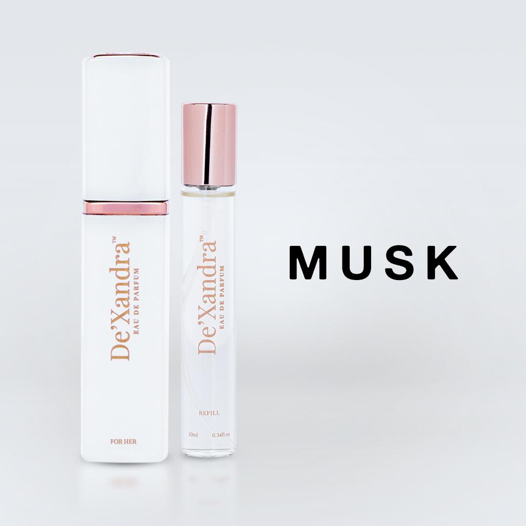 Musk – De'Xandra Eau De Parfum Twist & Spray